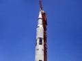 20. května 1969 rolovala obří plošina s raketou Saturn 5 a lodí Apollo 11 na startovací rampu