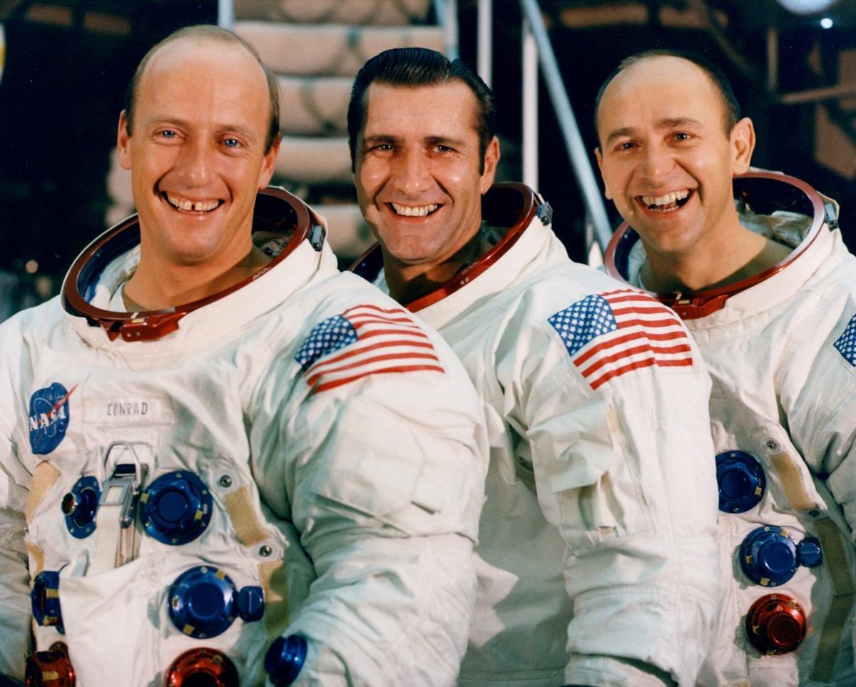 Posádka Apolla 12: Charles Conrad, Dick Gordon, Alan Bean
