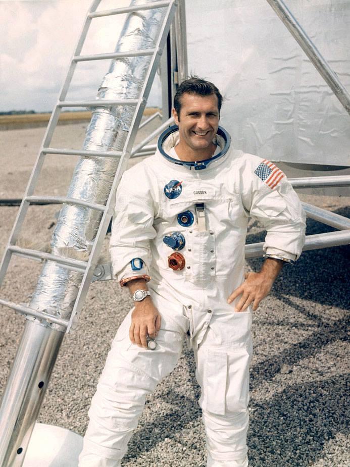 Pilotem velitelské sekce Yankee Clipper byl Dick Gordon, zde zachycený 12. září 1969
