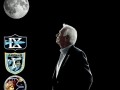 "Posledním kosmonautem na Měsíci byl Eugene Cernan; při opouštění Měsíce 14. 12. 1972 řekl tato slova: ""As I take man's last step from the surface, back home for some time to come - but we believe not too long into the future - I'd like to just (say) what I believe history will record. That America's challenge of today has forged man's destiny of tomorrow. And, as we leave the Moon at Taurus-Littrow, we leave as we came and, God willing, as we shall return, with peace and hope for all mankind. Godspeed the crew of Apollo 17"""