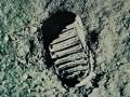 První stopa na Měsíci