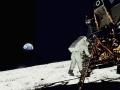 Druhým mužem na Měsíci byl Buzz Aldrin