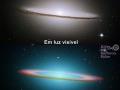 Galaxia Sombrero (M104) vo viditeľnom (hore) a infračervenom (dole) spektre (Eduard Boldižár)