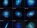Kolekcia galaxii v infračervenom svetle (Eduard Boldižár)