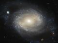 Galaxia NGC4639 sa nachádza v klástri (kope galaxii) Virgo (Panny) a samotná je od nás vzdialená ~70 miliónov svetelných rokov...klasifikujeme ju ako špirálovú galaxiu s priečkou (stredná vydutina dvoch protisebe idúcich priamok) (Eduard Boldižár)