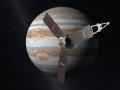 Sonda Juno v představě malíře na cestě ke králi planet