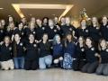 Dámská část týmu zajišťující provoz sondy New Horizons