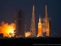 Start rakety Delta 4 Heavy s lodí Orion