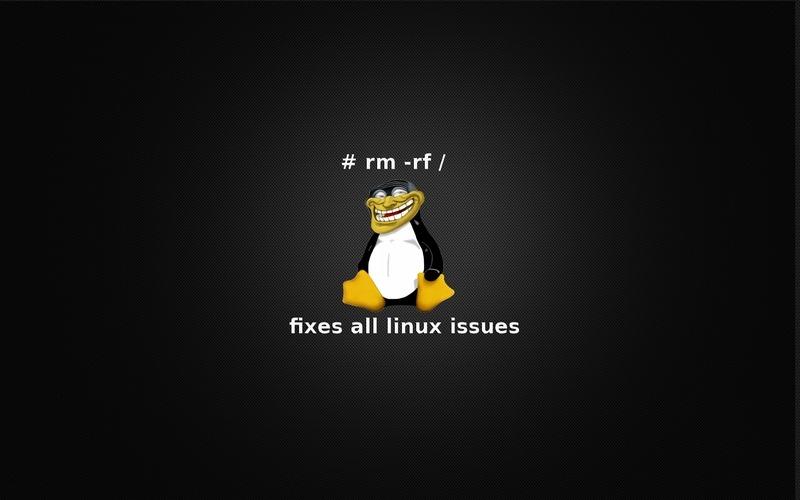 Máte-li s Linuxem problémy, tento příkaz vás jich zbaví. Definitivně...