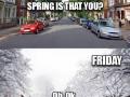 Zima 2016 připomíná houpačku - ve čtvrtek jaro, v pátek zima