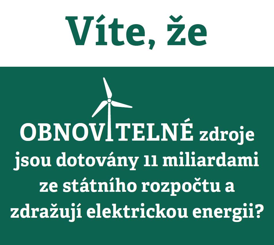 Zelená energie je mýtus