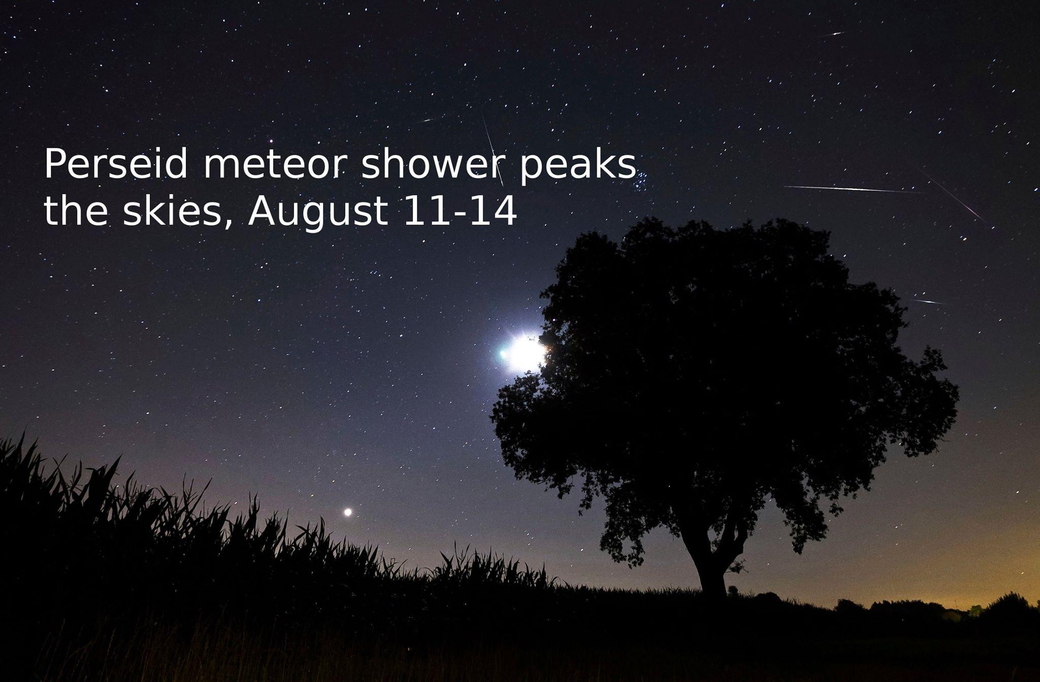 Rozpamätajte sa. Uvideli ste letiace meteory Perzeidy? Čo ste si želali? ;) (Eduard Boldižár)