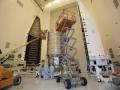 Prodloužená verze lodi Cygnus se chystá k zakrytování do aerodyProdloužená verze lodi Cygnus se chystá k zakrytování do aerodynamického krytu pro čtvrtý zásobovací let k ISS; očekávaný start 3. 12. 2015namického krytu pro čtvrtý zásobovací let k ISS