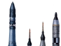 První rakety - Vostok, Mercury-Redstone, Mercury Atlas, Titan II (Gemini)