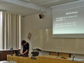 Vítek přednáší o projektu Apollo-Sojuz