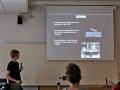 Jakub přednáší o sondě Rosetta a landeru Philae