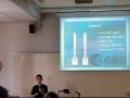 Nejmladší řečník Matěj představuje rakety ESA