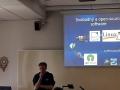 Petr vysvětluje filozofii svobodného softwaru