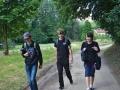 Vítek, Jakub a Marek na procházce v okolí Jundrova