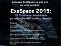 Pozvánka na seminář ExoSpace.cz