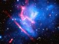 Kopa galaxií MACS J0717 patrí medzi najzložitejšie a najdynamickejšie kopy galaxií vo vesmíre...od nás je vzdialená až 5.4 miliárd svetelných rokov... (Eduard Boldižár)