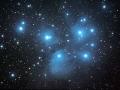 Otvorená hviezdokopa Plejády...vesmírne kuriatka...(Eduard Boldižár)