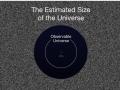 Celý náš pozorovateľný vesmír...a čo ďalej? sme len maličká plochá oblasť monumentalného vesmíru možno kladne či záporne zakriveného? Sú tám iné vesmíry? Kolidujúce brány? Strunová krajinka energii? Večná inflácia? ...(Eduard Boldižár)