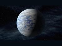 Představa planety Kepler-69 c (NASA)