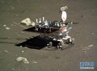 Čínský rover Nefritový králík začal s průzkumem Měsíce