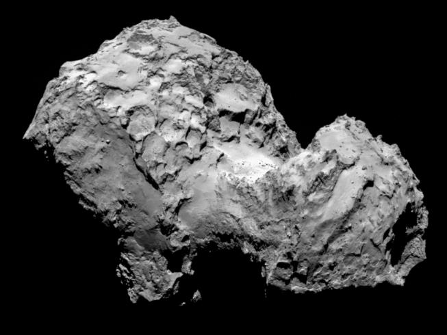 Rosetta sa udomácňuje u kométy Čurjumov-Gerasimenko