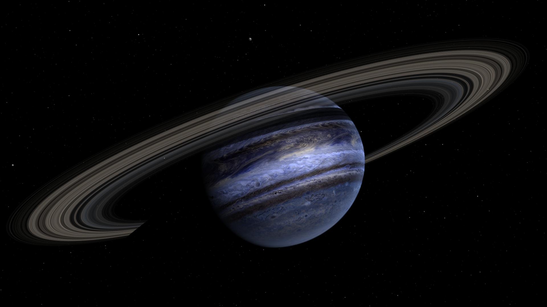 Megaprstence v hviezdnom systeme J1407
