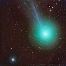 Komety vizuálně v době novu 14. 8. 2015