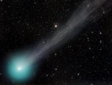 Komety vizuálně v době březnového novu