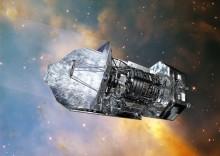 Európska infračervená družica Herschel, ktorá svoju činnosť ukončila v roku 2013