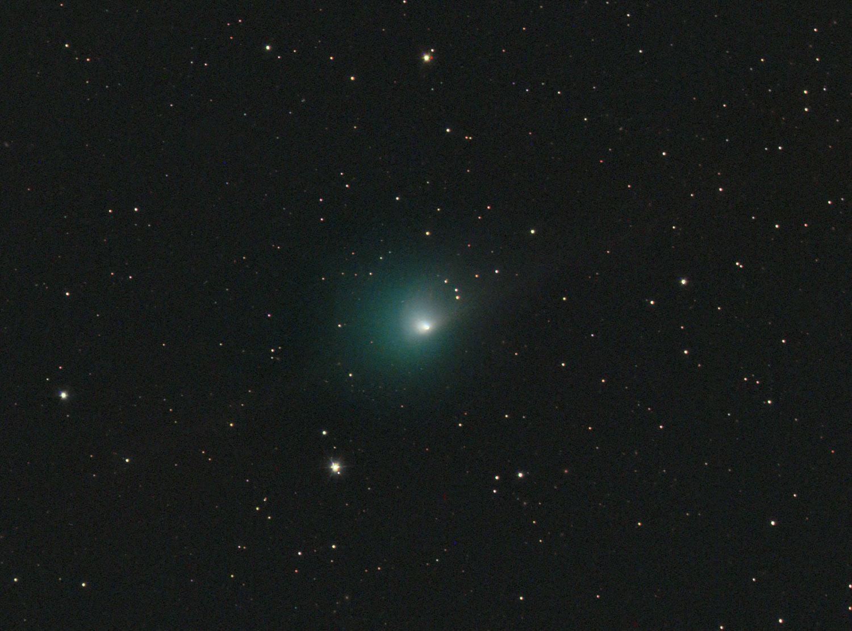 Komety vizuálně v době novu 6. 5. 2016