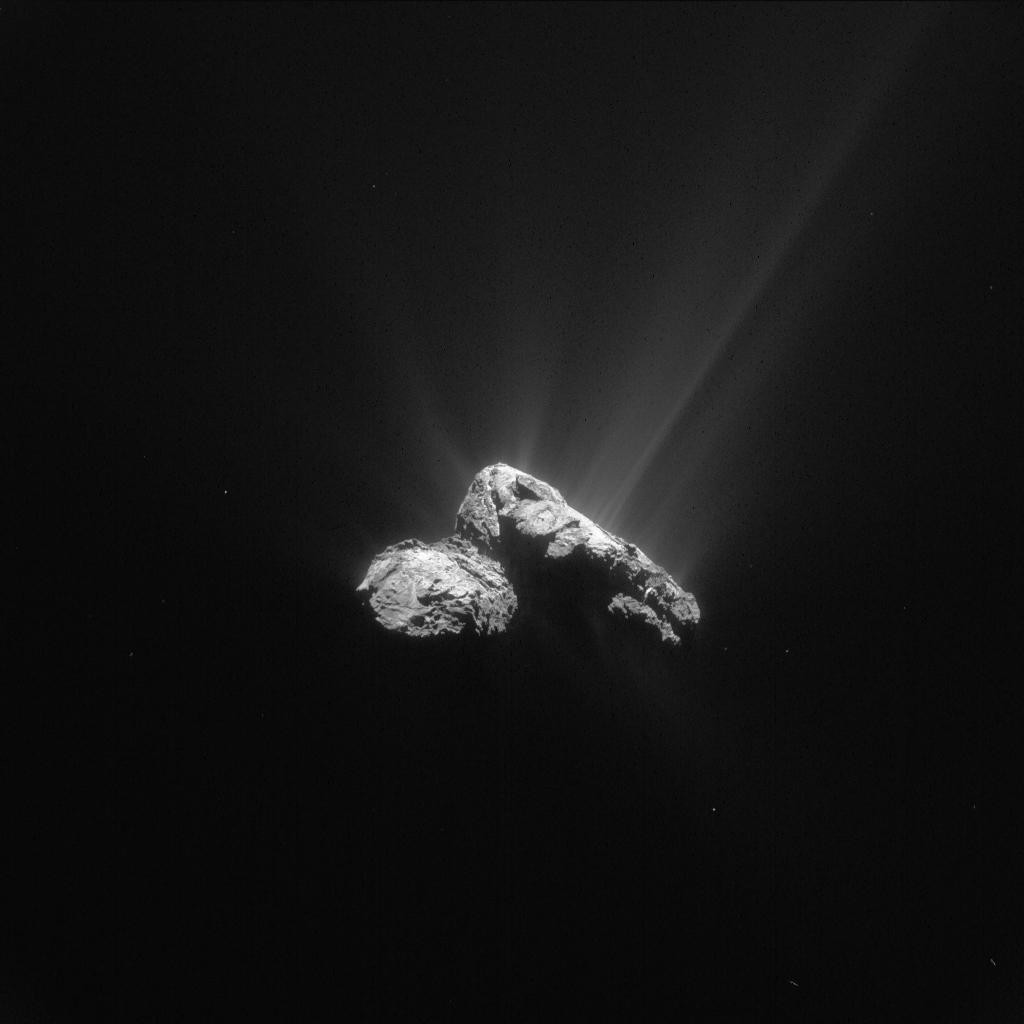 Rosetta objevila kyslík na kometě 67P