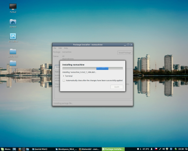 Linux Mint instalace software