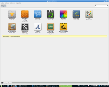 Linux Mint software