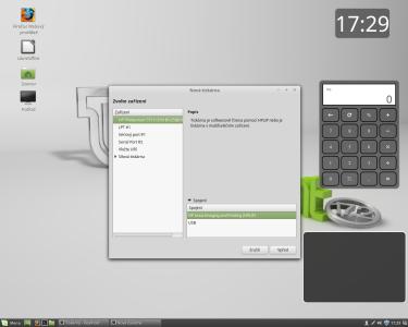 Linux Mint tiskárna