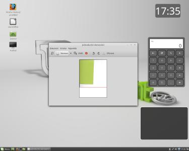 Linux Mint skenování