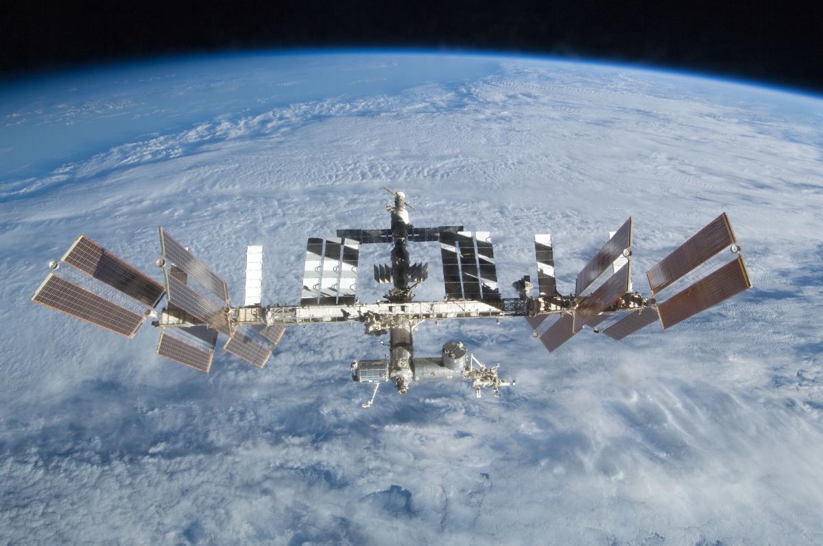 Honička na ISS