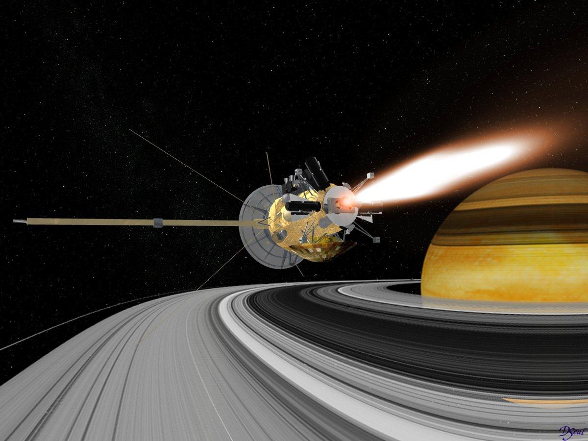 serie nasas cassini spacecraft - HD1200×900