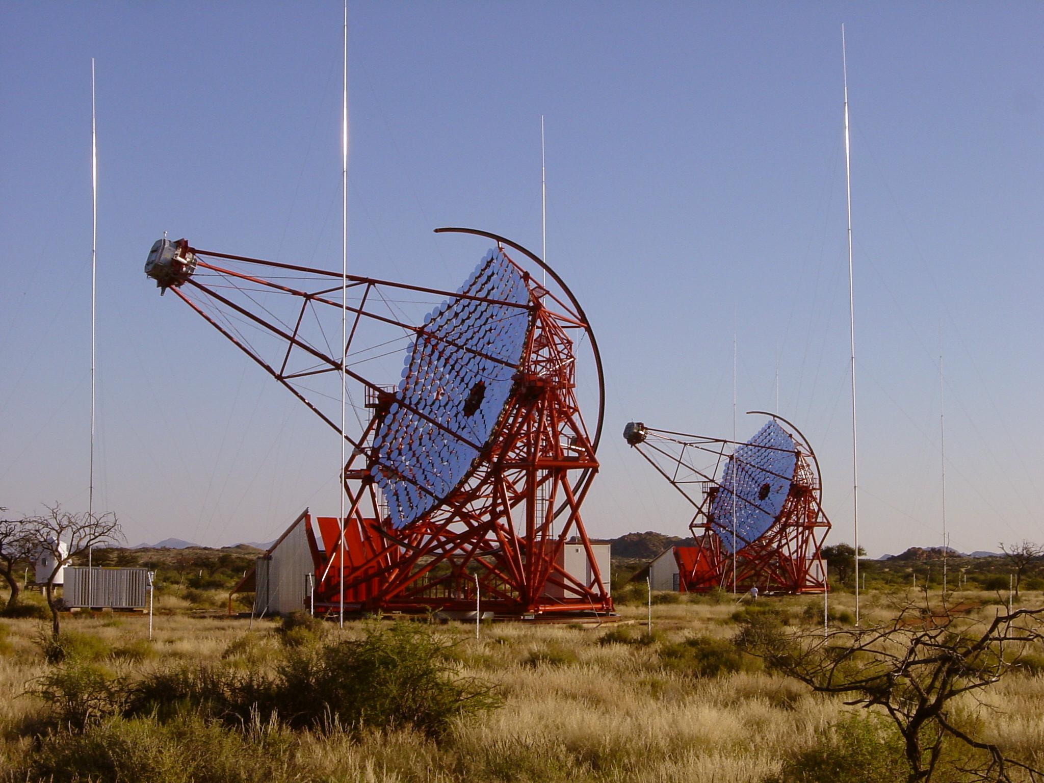 H.E.S.S. po stopách kozmického žiarenia