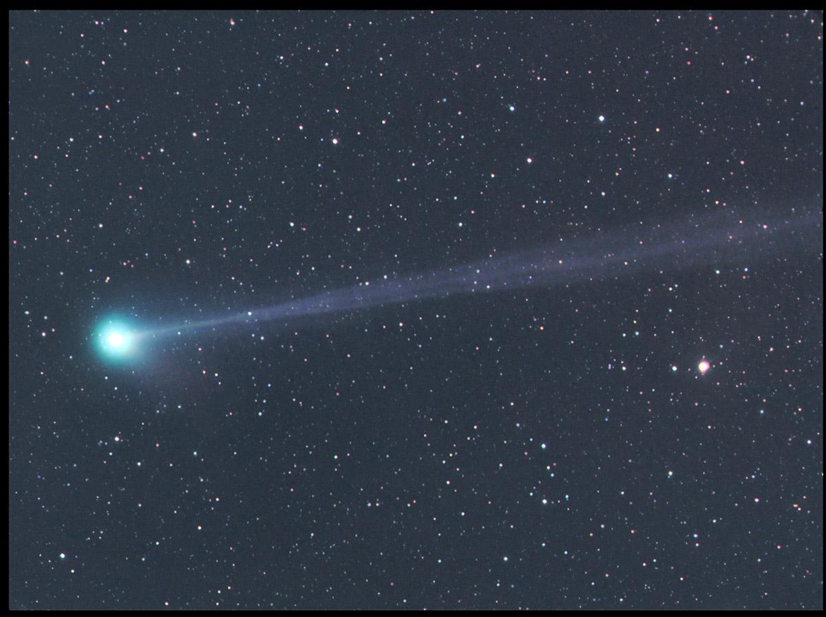 Objevené a znovuobjevené komety v lednu 2016