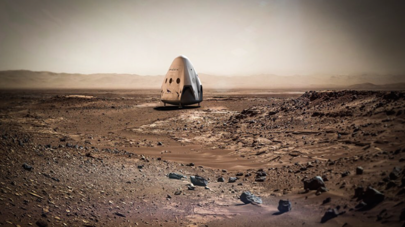 S Elonem Muskem na Mars již v roce 2018