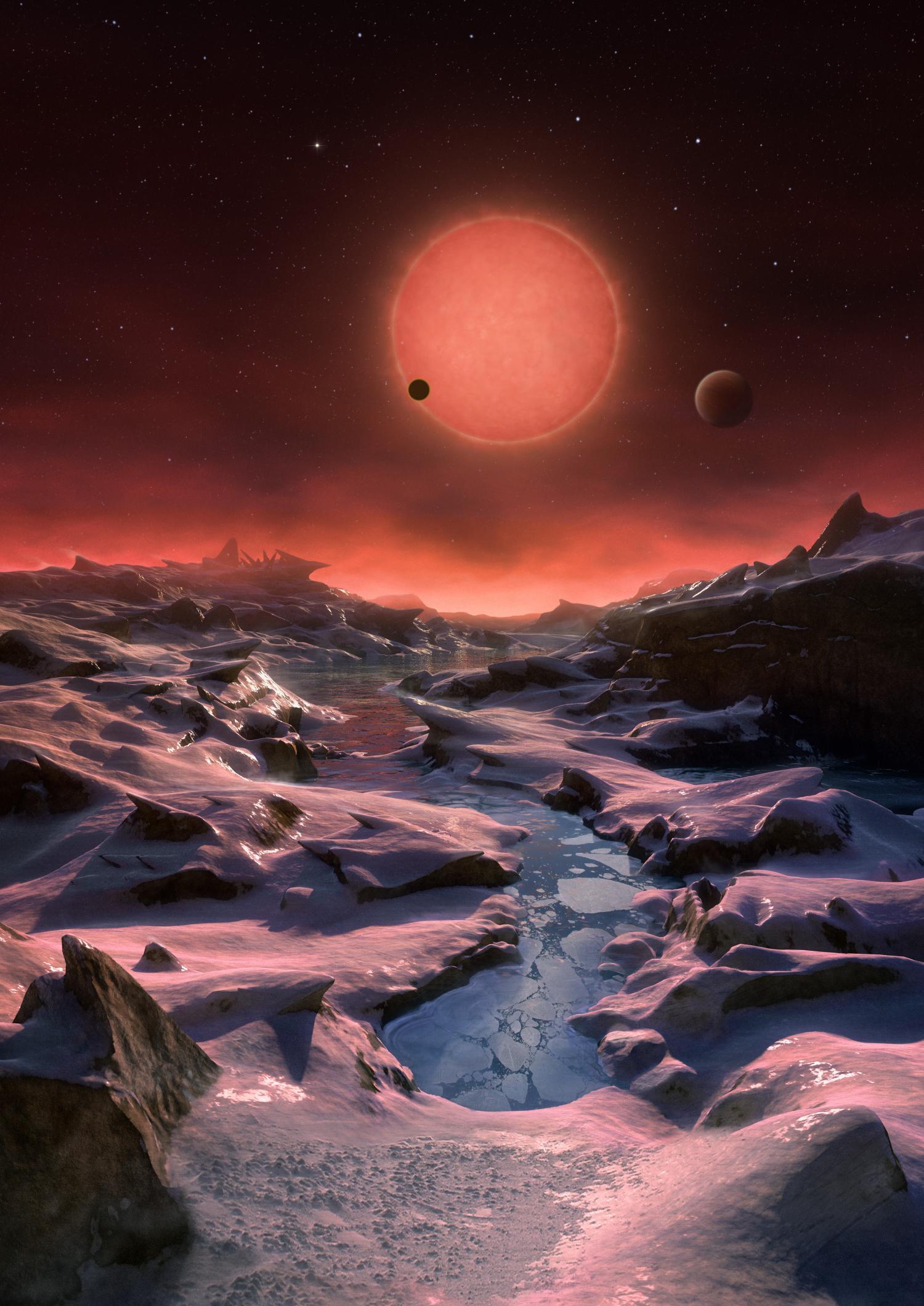 Až tri planéty u TRAPPIST-1, možno obývateľné