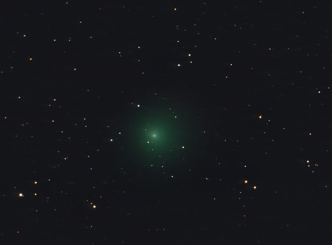 Komety vizuálně v době novu 1. 10. 2016
