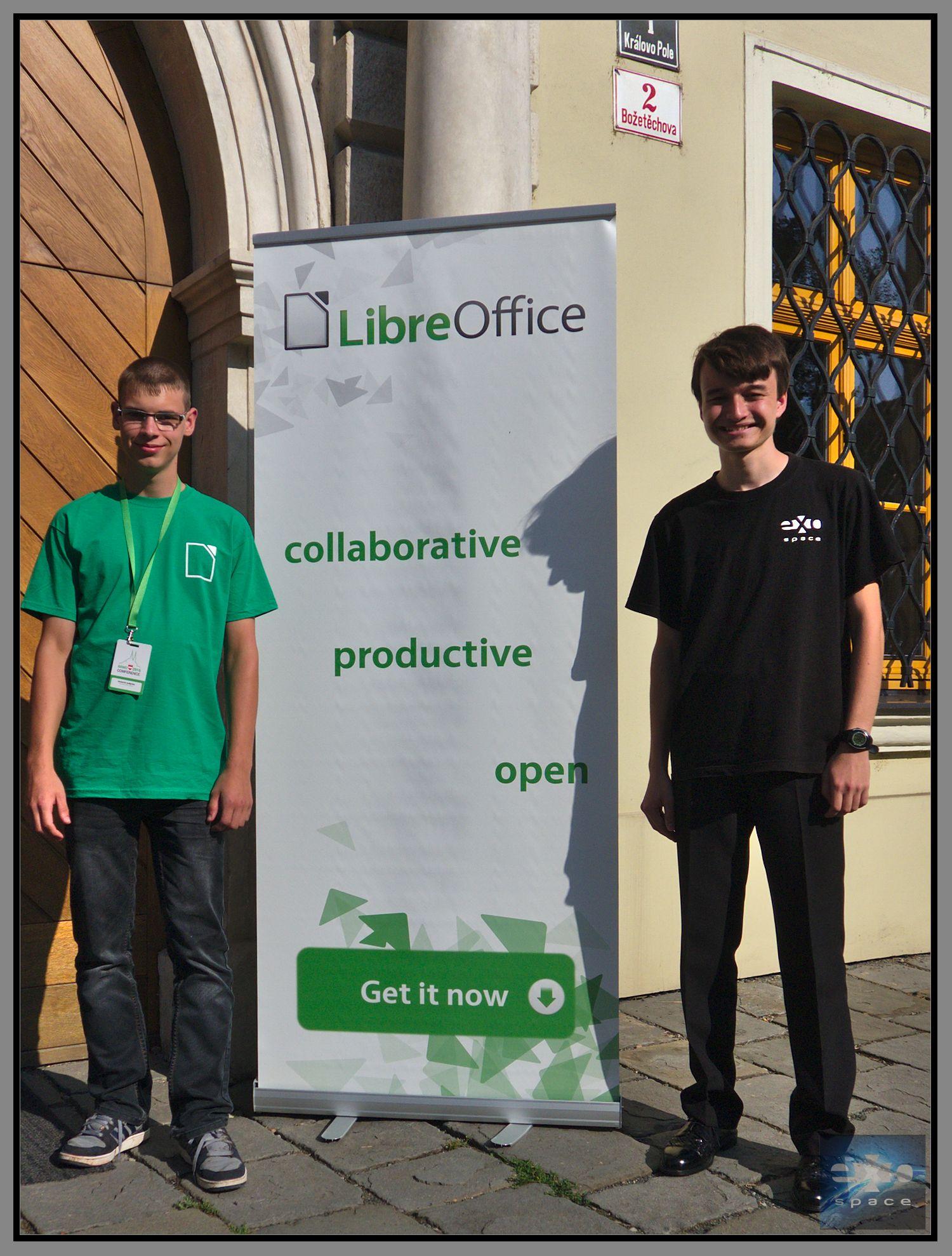 ExoSpace na konferenci LibreOffice 2016