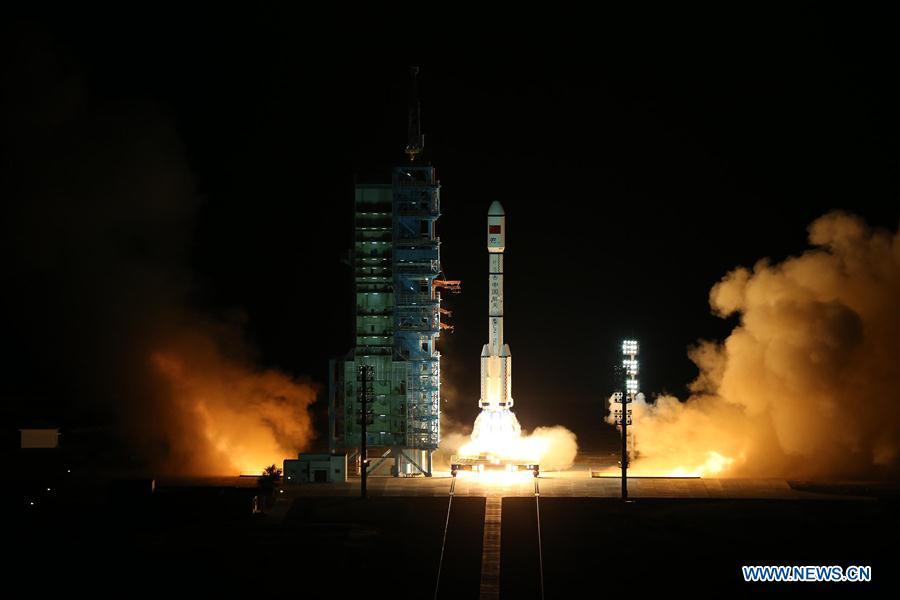 Štart kozmickej stanice Tiangong 2 do vesmíru