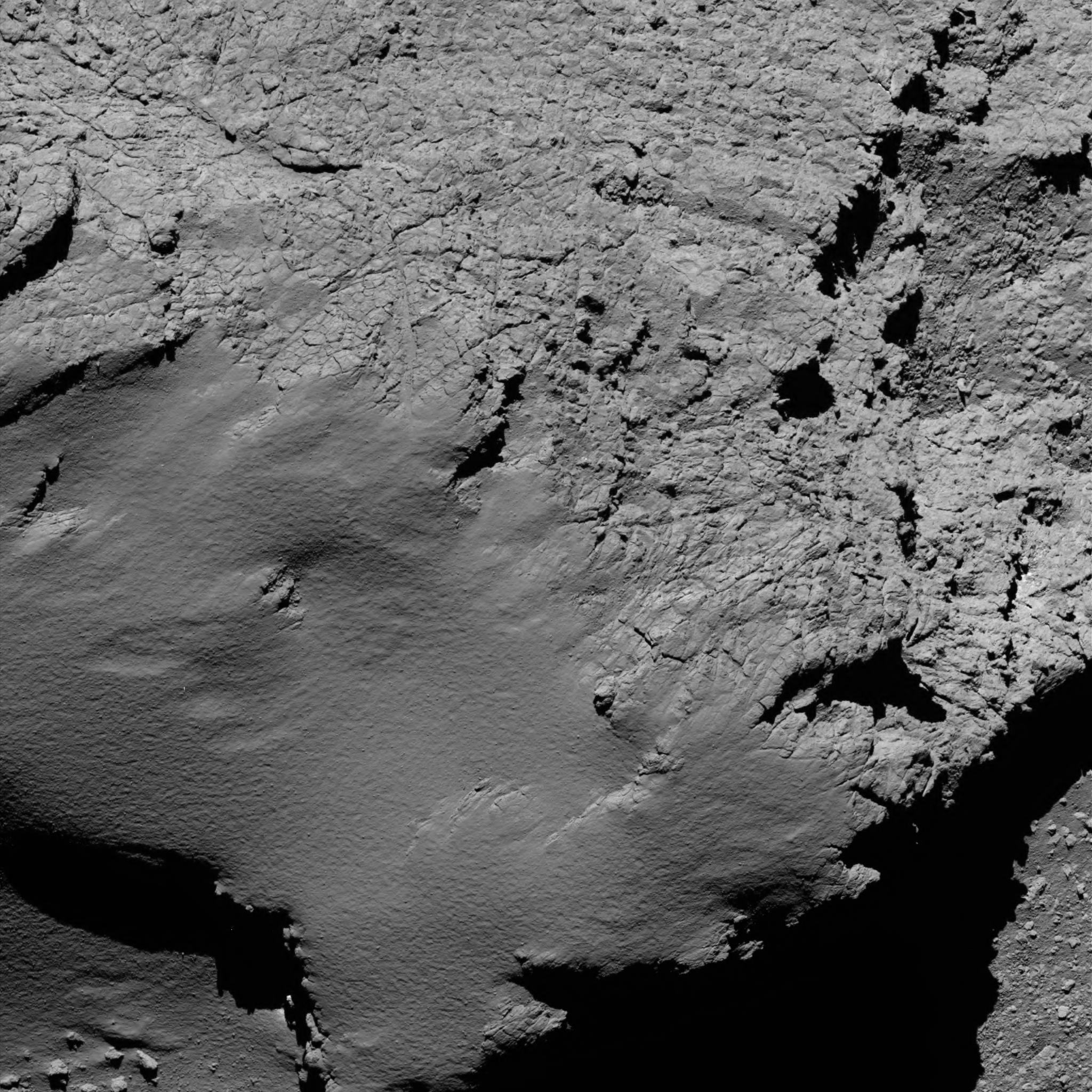 Rosetta řízeně dopadla na kometu 67P, mise končí